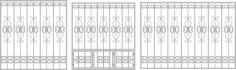 Wrought Iron Fence Window CDR File