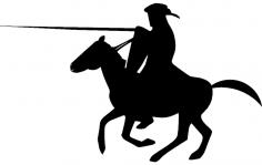 Crusader knight dxf File