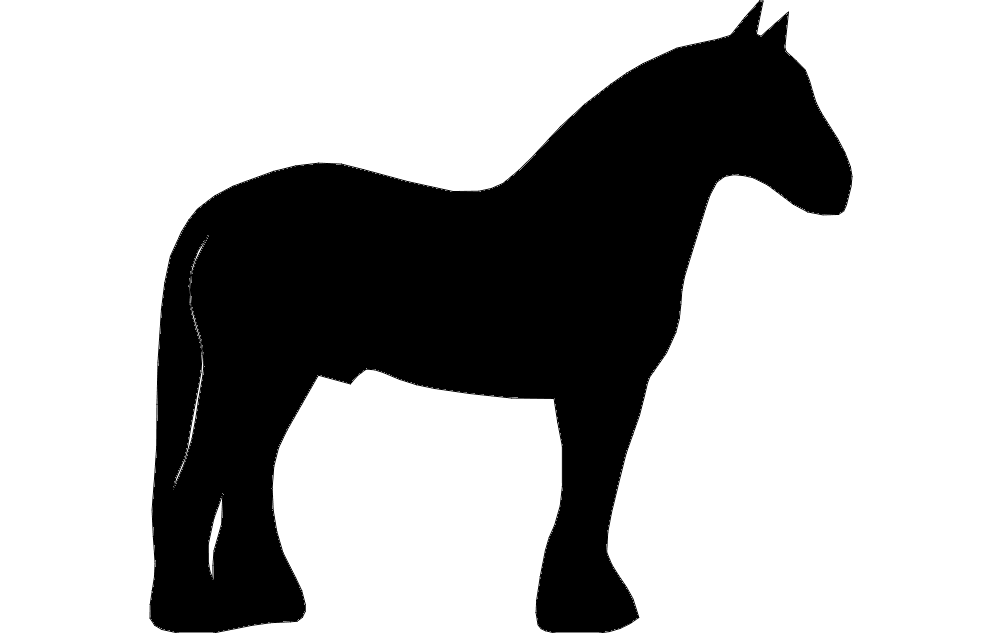 Clydesdale dxf File Fr...