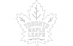 Maple Leafs dxf File