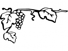 Grapes 7×4 dxf File
