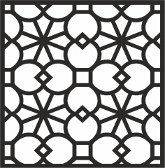 Decorative Panel Design CDR File