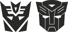 Transformers Stickers Decals CDR File