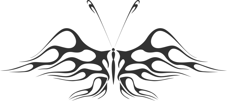 Butterfly Vector Illustration CDR File