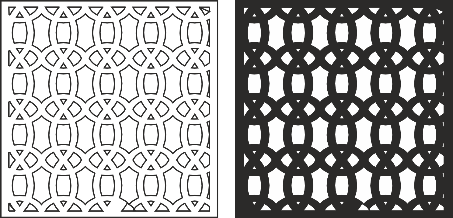 Geometric Pattern CDR File