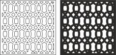 Geometric Pattern CDR File
