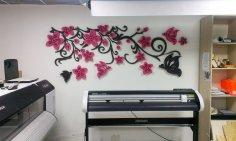 Tree Wall Art Laser Cut CDR File