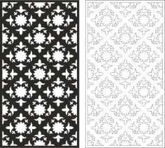 Vintage Seamless Pattern CDR File