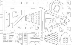 Fantasy Villas 2 dxf file