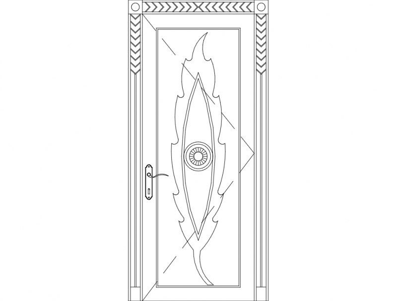 Carved Wood Door Dxf File Free Download 3axis Co