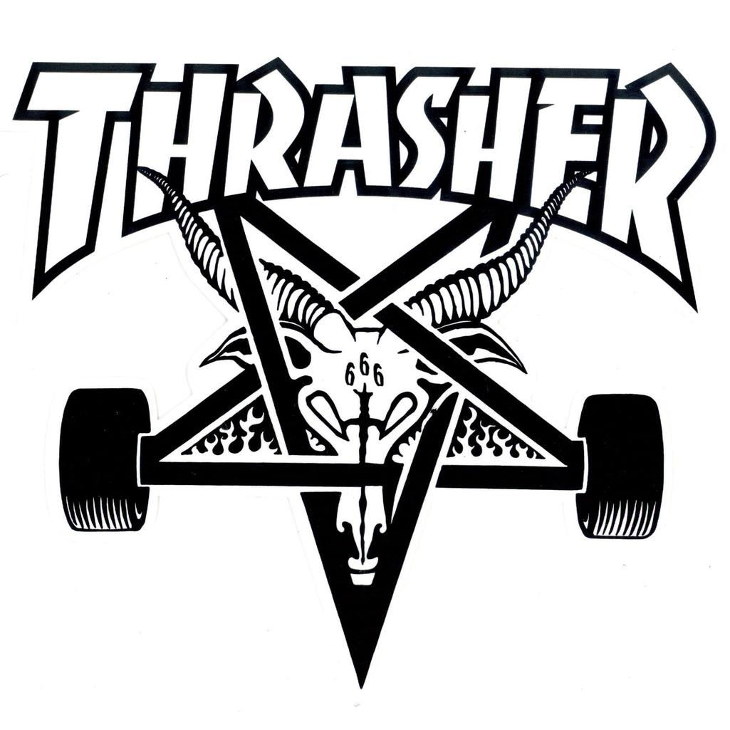 Thrasher Logo Dxf File Free Download 3axis Co