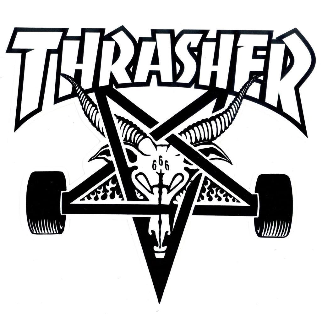 thrasher logo dxf file free download