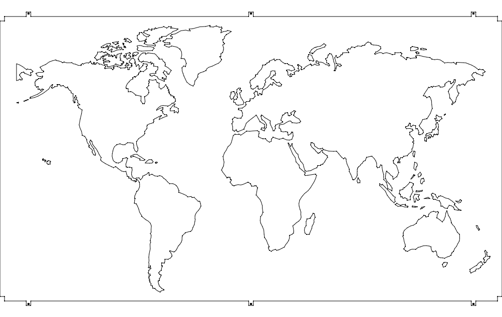 World map dxf file free download 3axis world map dxf file gumiabroncs Image collections
