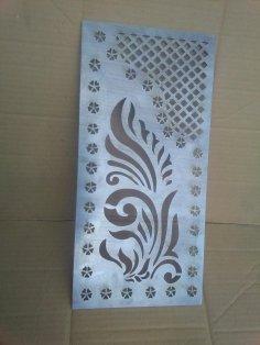 Decorative Pattern Separator Laser Cut CNC Pattern DXF File