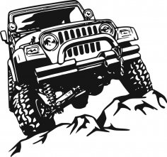 Offroad Sticker CDR File