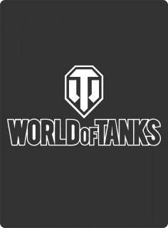 Sticker World Of Tanks Vector CDR File