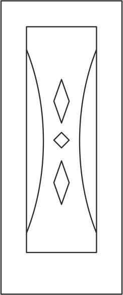 Door Panel Design Vector CDR File