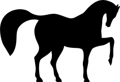Horse Dancing Vector CDR File