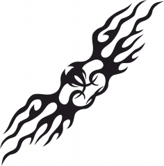 Tattoo Tribal Vector Design CDR File