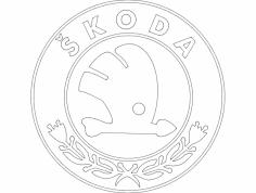 Skoda dxf File