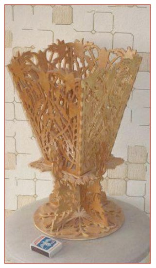 Vase Scroll Saw Plans Pdf File Free Download 3axis