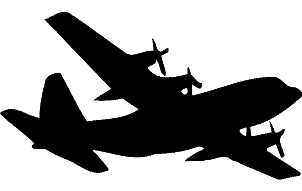 C 130 Silhouette Dxf File Free Download 3axis Co