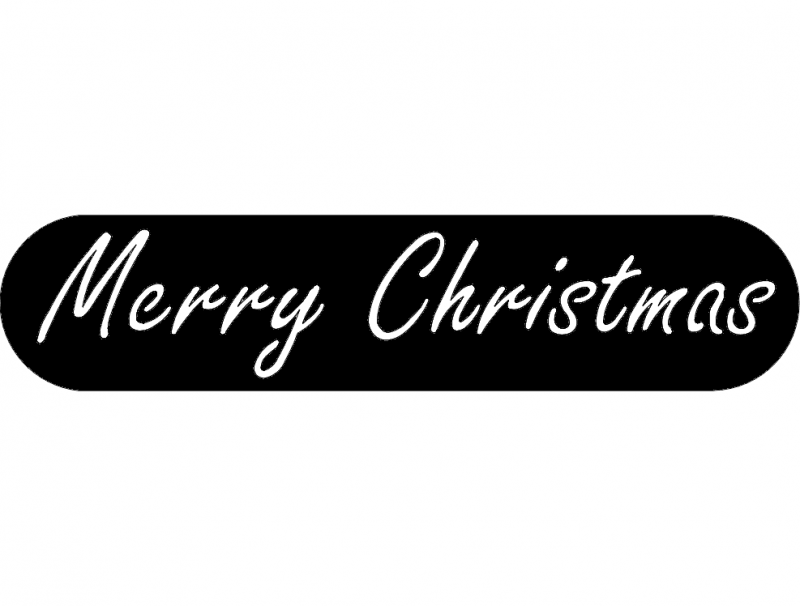 Merry Christmas Dxf File Free Download 3axis Co
