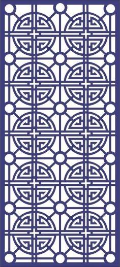 Ornamental Patterns 3 dxf file