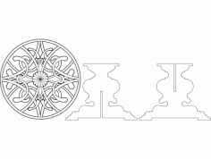 Masem Yemek Masasi dxf File