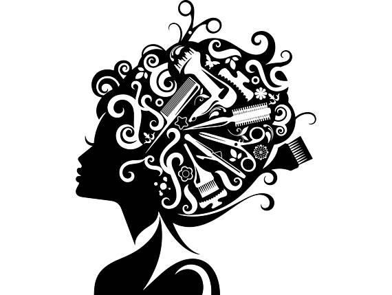 Hair Style Salon dxf File