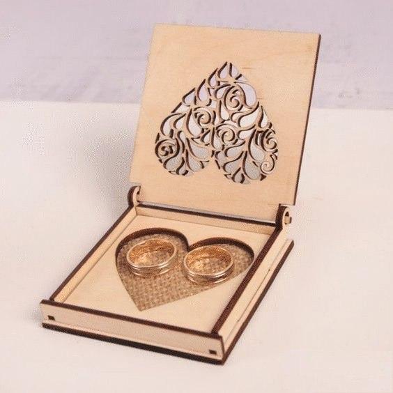 Wedding Rings Box CDR File