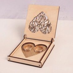 Wedding Rings Box CDR File