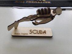 Scuba dxf File
