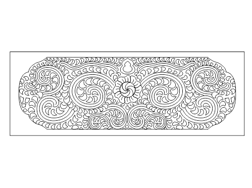 Decorative Pattern DWG File Free Download - 3axis co