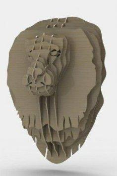 Lion Head dxf file