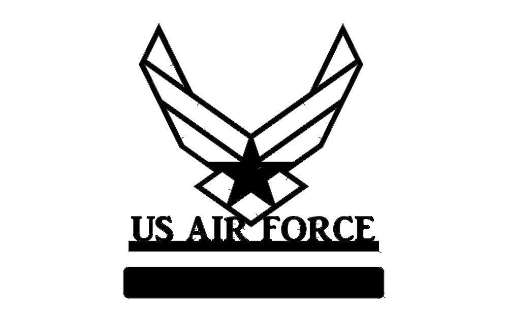 Us Air Force Dxf File Free Download 3axis