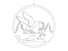 Goose wall dxf File