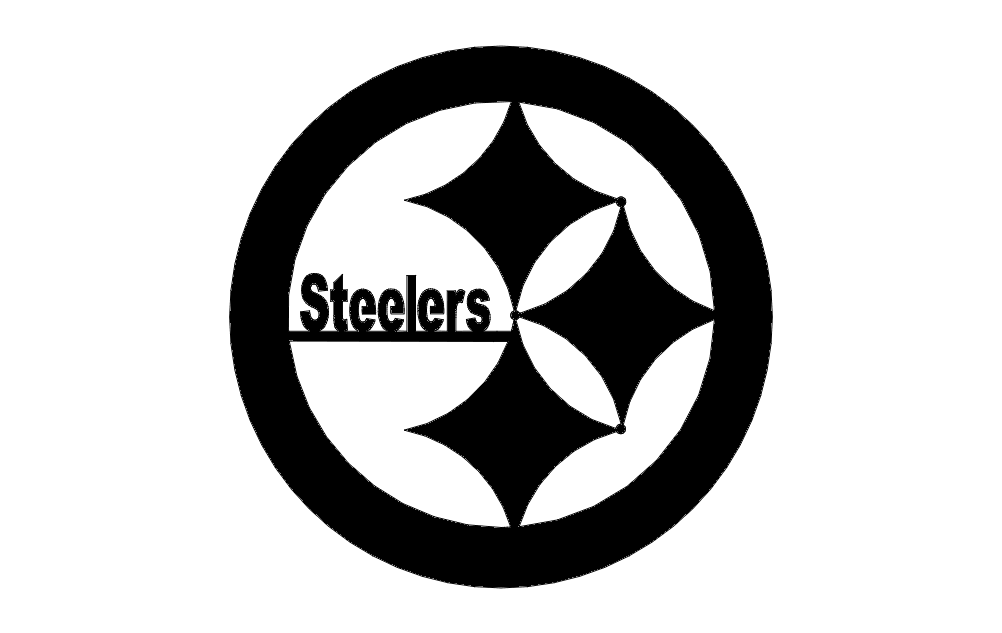 steelers dxf file free download