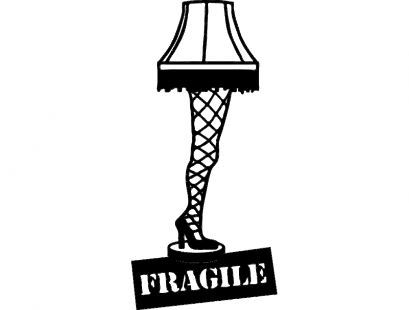 Leg Lamp Dxf File Free Download 3axis Co