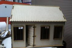 House 3mm dxf File