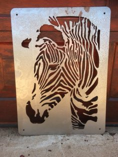 Zebra Laser Cut dxf File