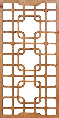 Room Divider Pattern 300-v87 dxf File