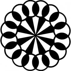 Pinwheel dxf File