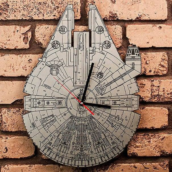 Star Wars Millennium Falcon Clock Dxf File Free Download