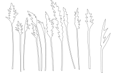 Trees And Plants dxf File