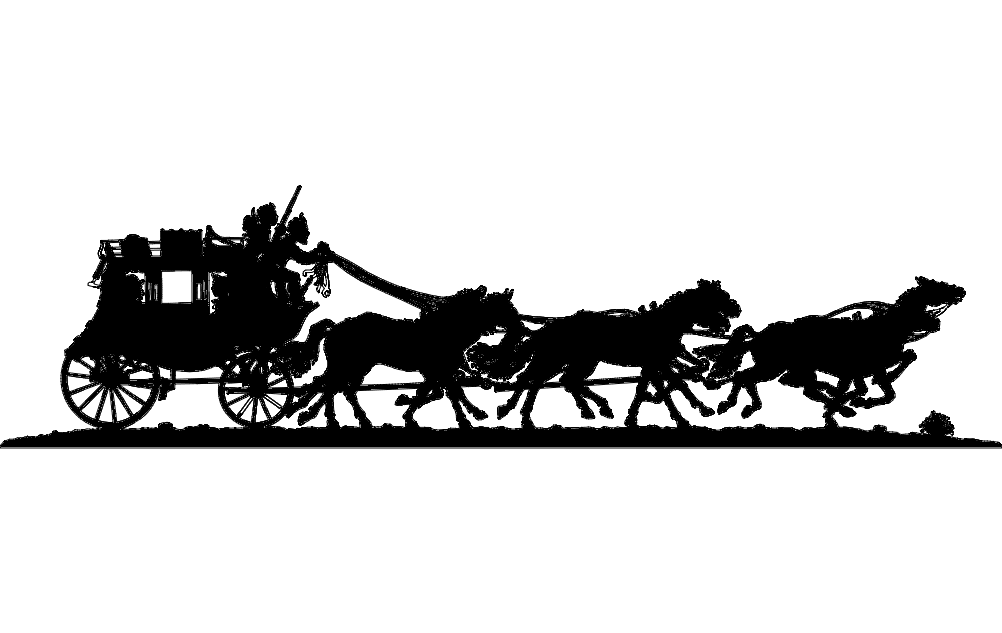 Stagecoach Dxf File Free Download 3axis Co