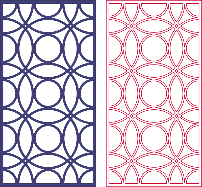 Dxf Pattern Designs 2d 164 DXF File Free Download - 3axis co