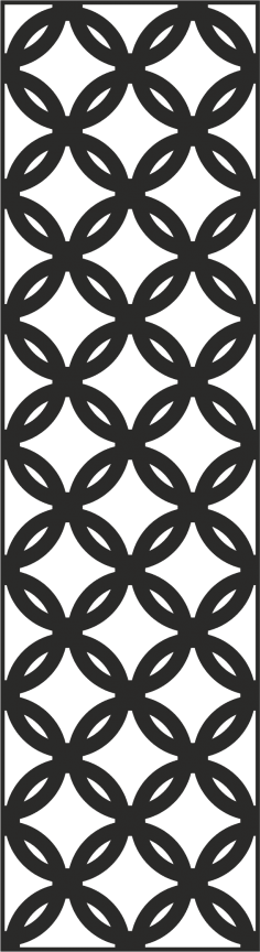 Laser Cut Metal Screen Pattern Vector CDR File