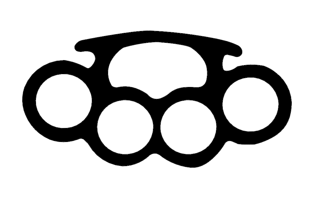 Brass Knuckles 3 Dxf File Free Download 3axis Co