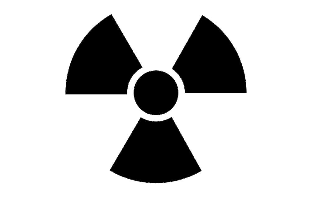 Radiation Symbol dxf File Free Download - 3axis.co